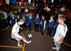 Children's football parties