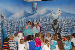 Frozen children's party themes