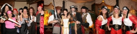 Pirates of the Caribbean theme parties
